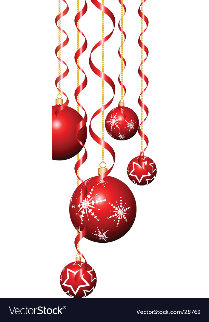 Christmas Baubles Vector By Kjpargeter Image 28769
