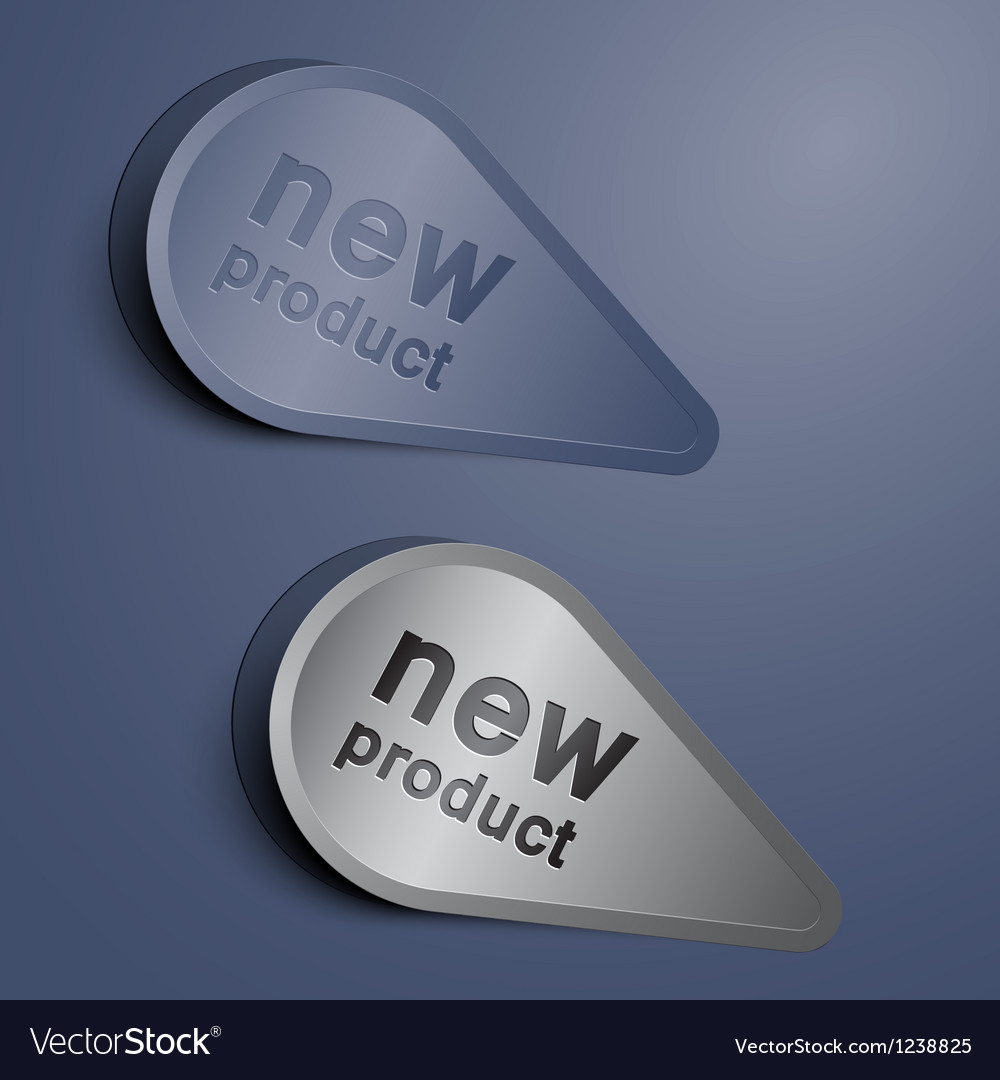 Elegant new label vector