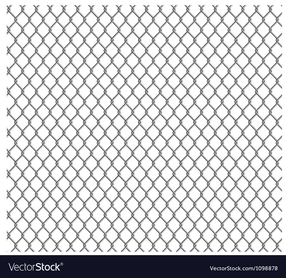 Wire mesh seamless vector