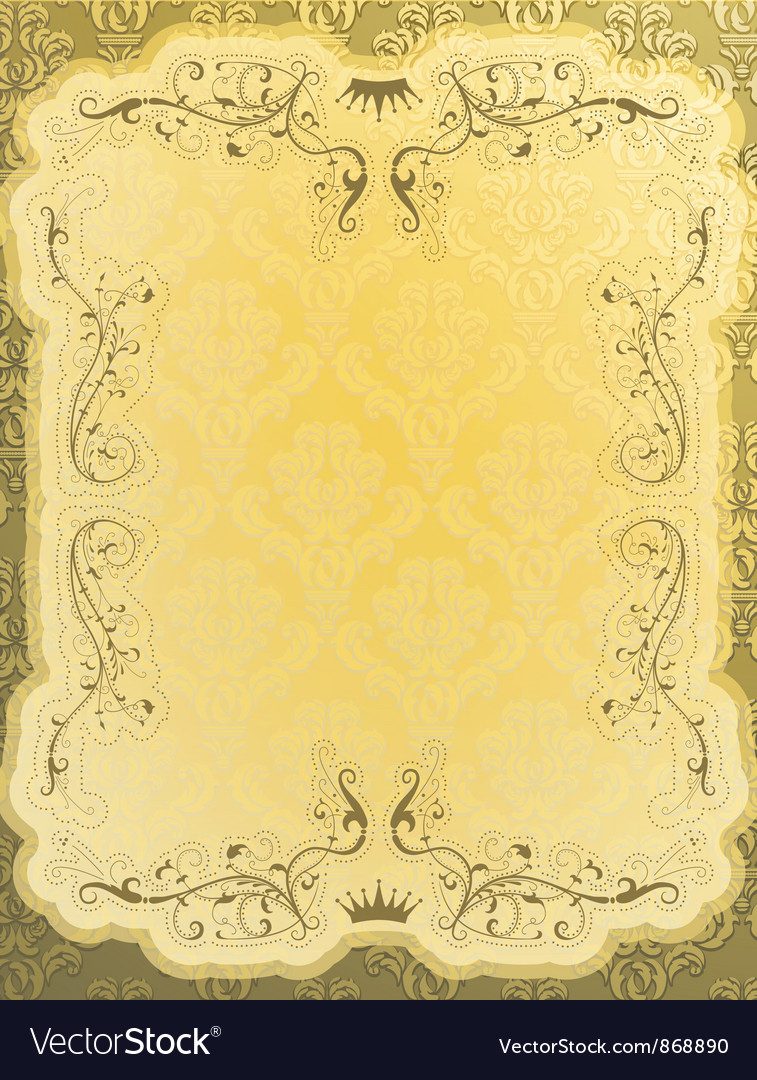 Free elegant vintage background vector