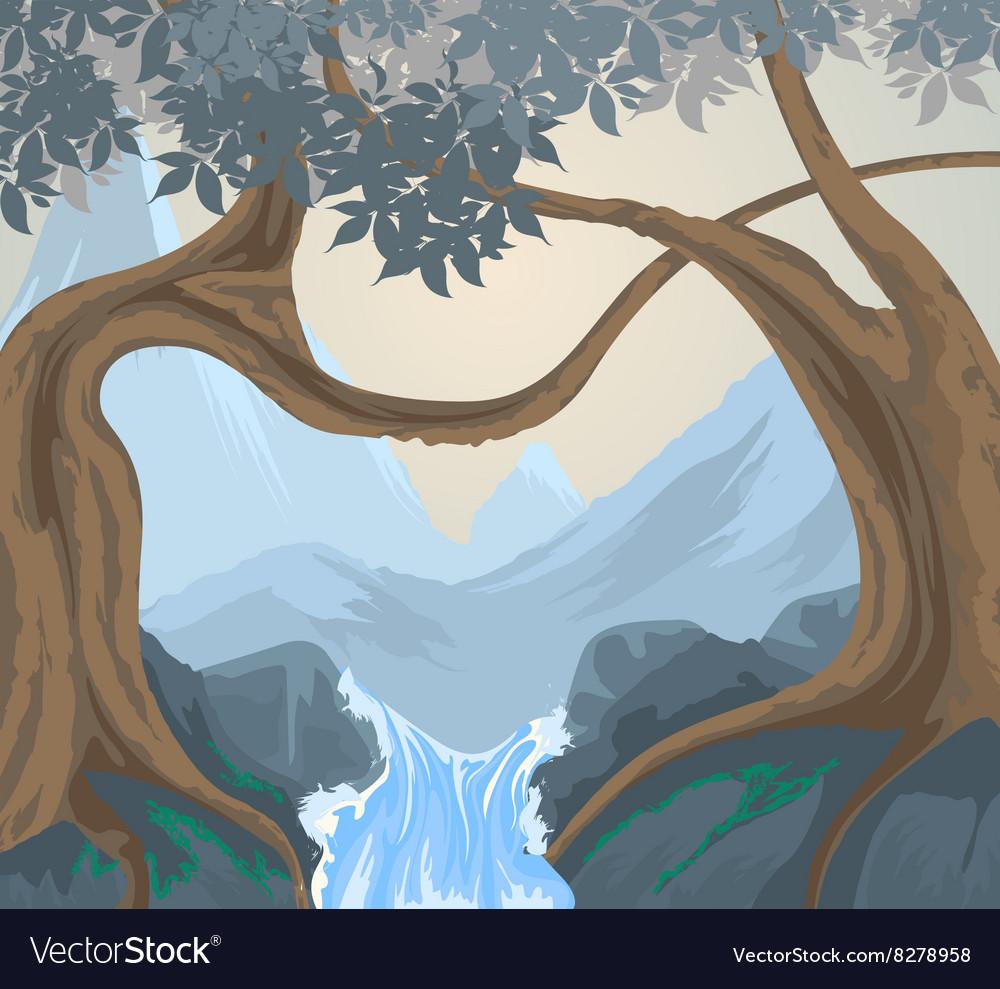 Trees scene