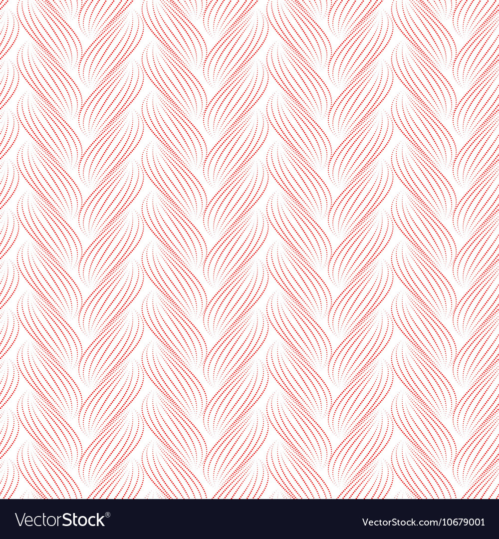 Seamless pattern with braids texture of
