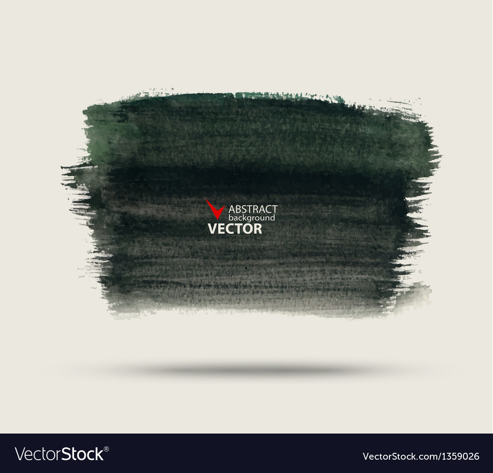 Abstract background painted watercolor paint vector