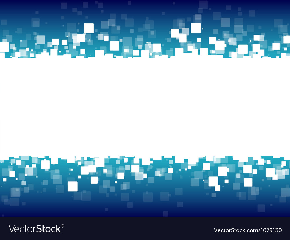 Abstract blue futuristic background vector