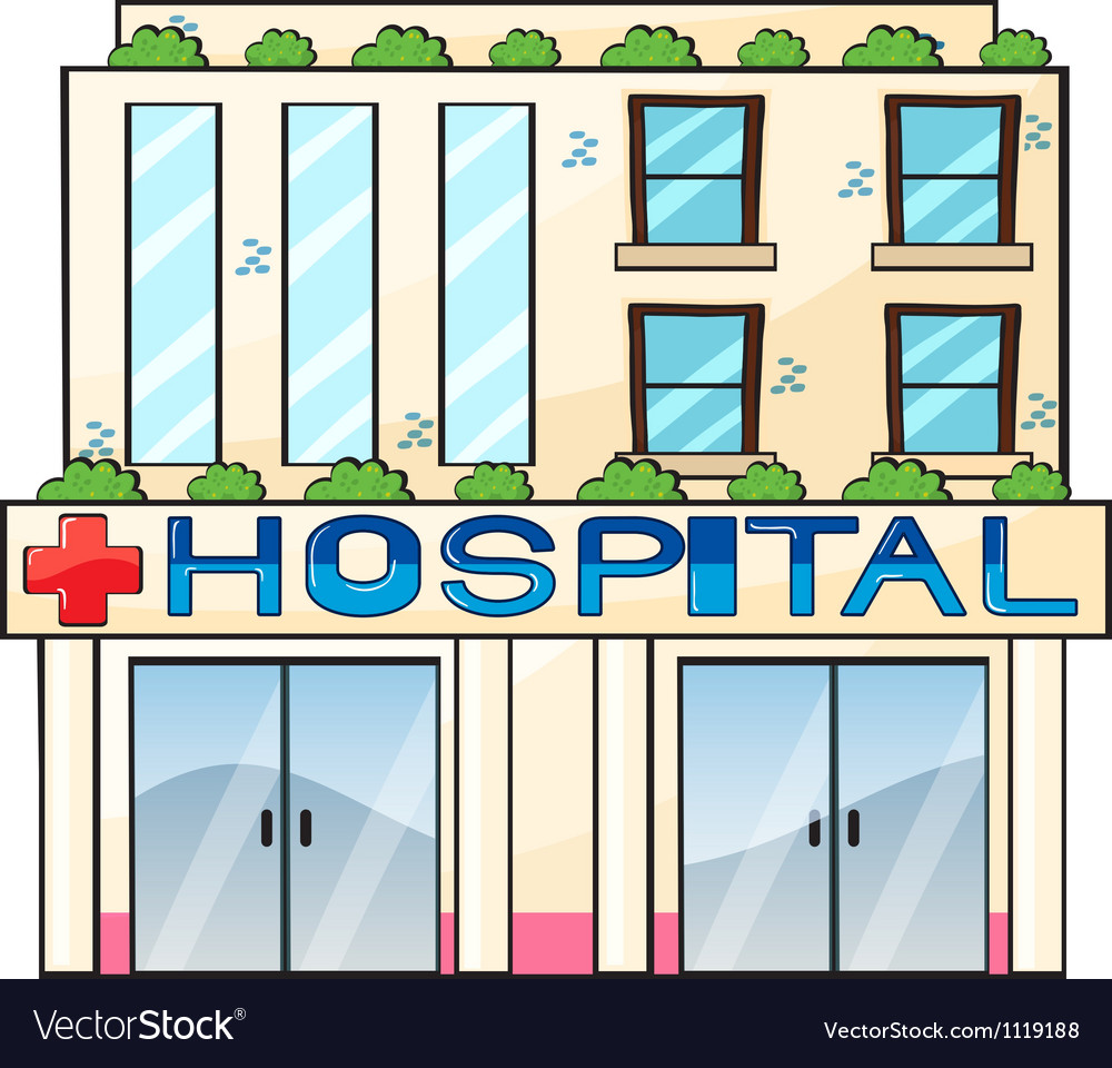 Hospital Building Drawing hospital vector by iimages - image #1119188 ...