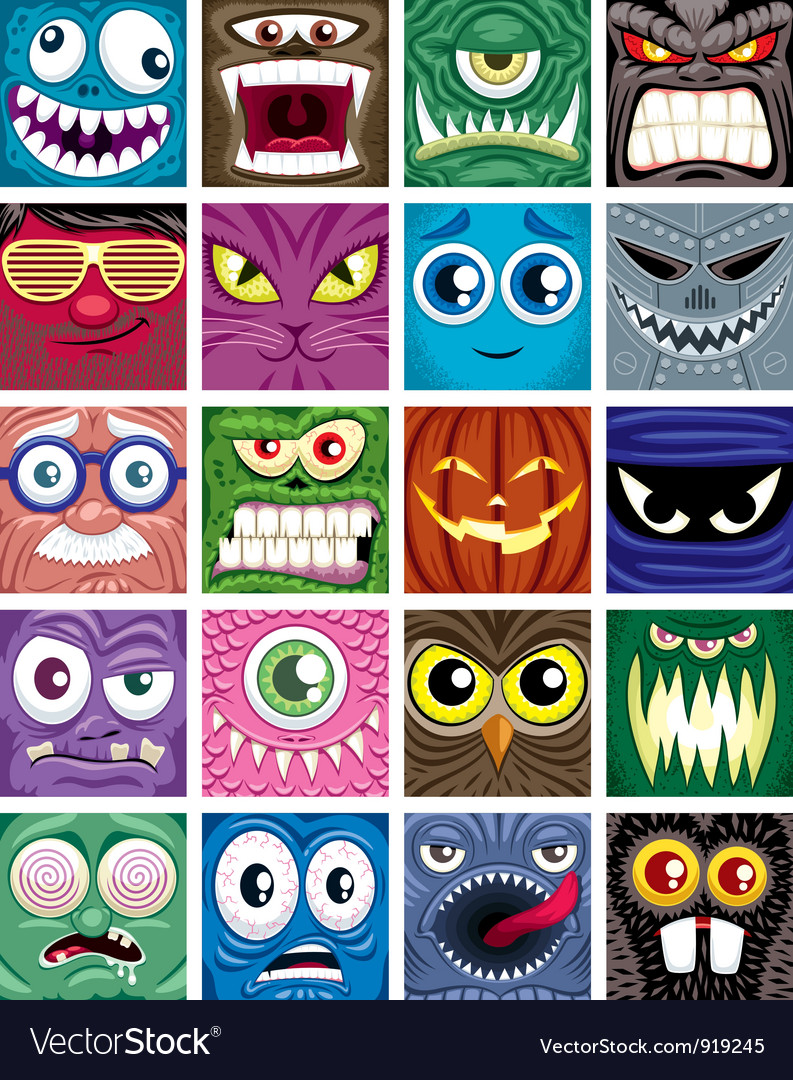 Avatars vector