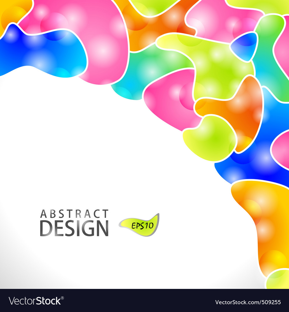 Abstract modern website background design vector