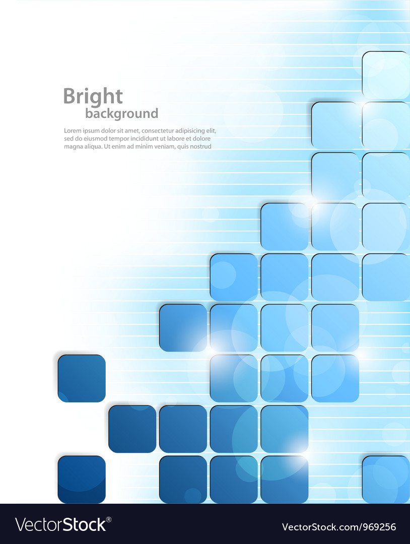 Background with squares vector