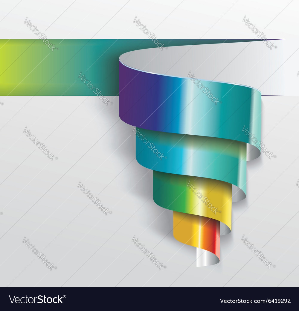 Modern design from spiral banner can be used for vector by Success ER ...