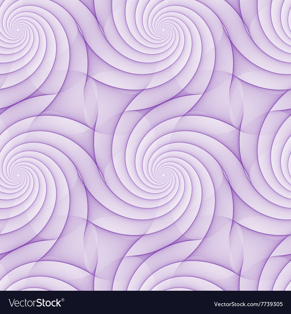 Purple abstract repeating fractal line pattern