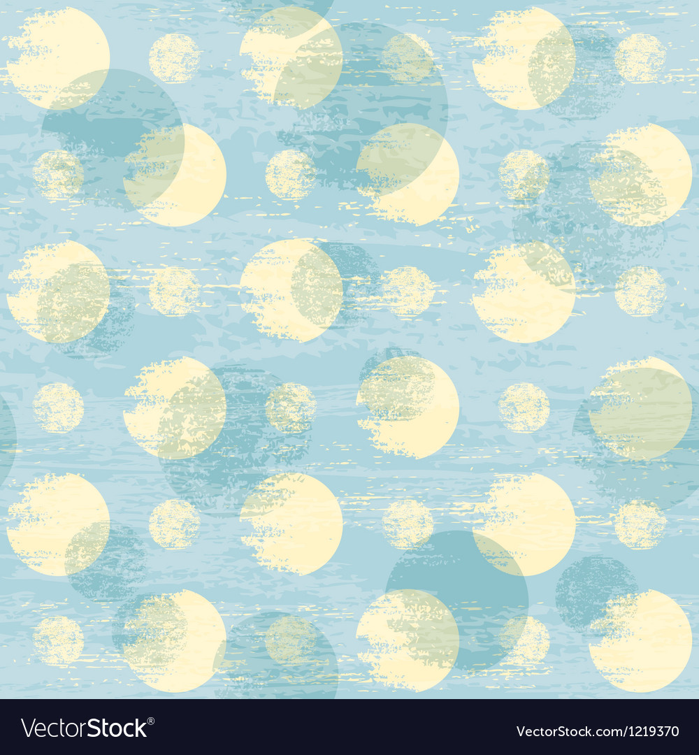 Grunge dots pattern vector