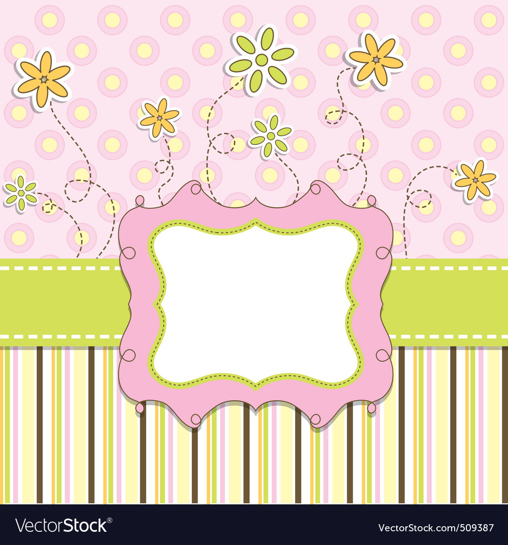Template cards vector