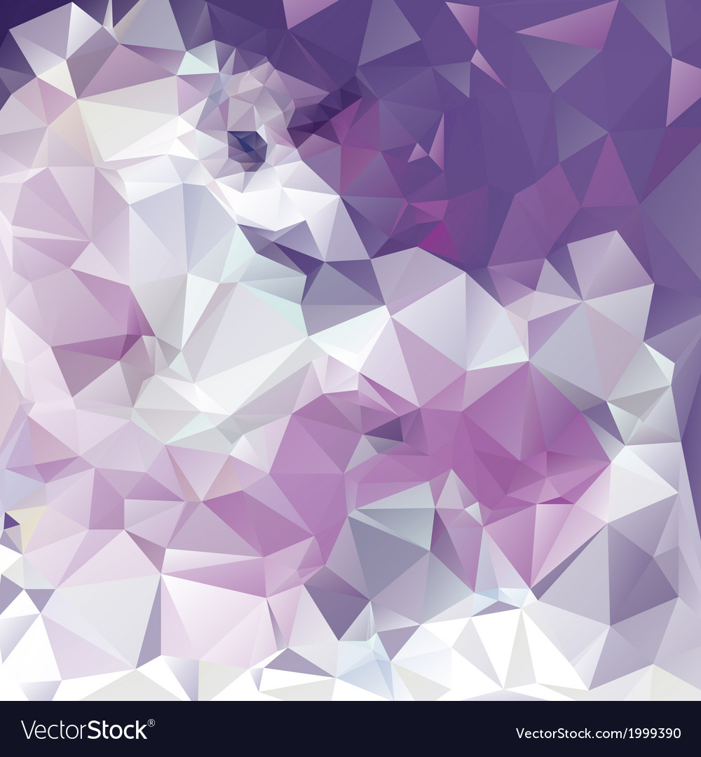 Free abstract polygonal background vector