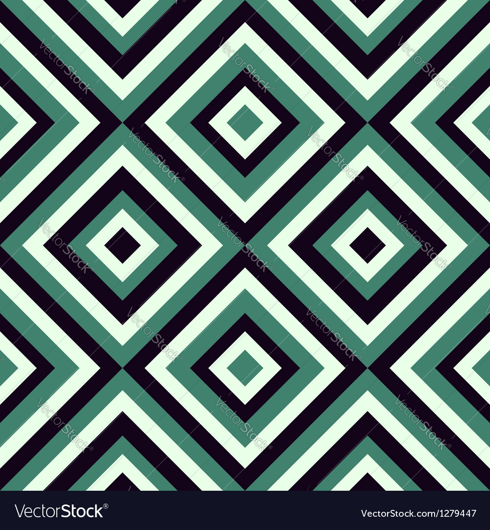 Fashion pattern with diamonds vector