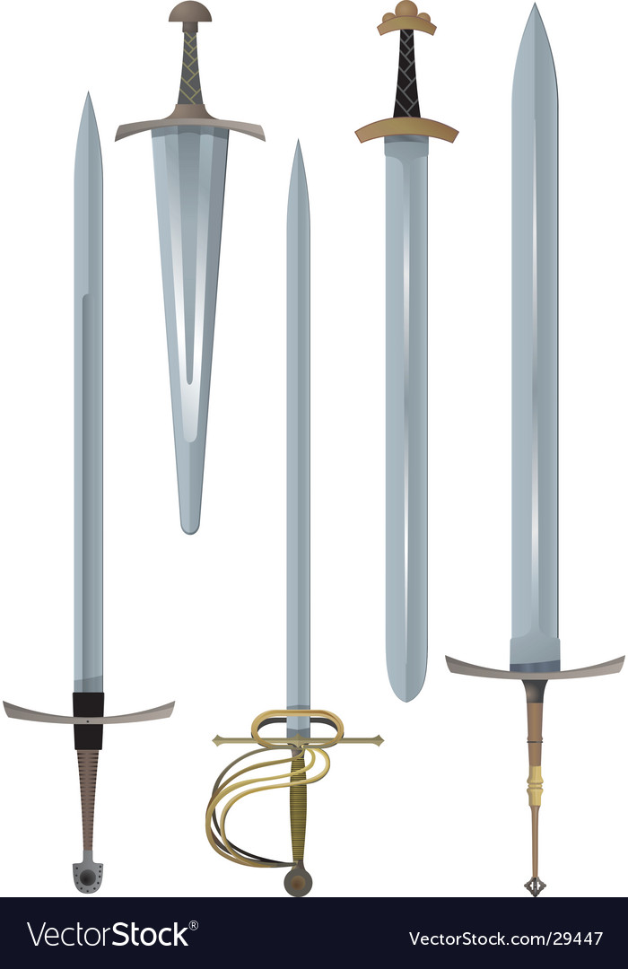Swords vector