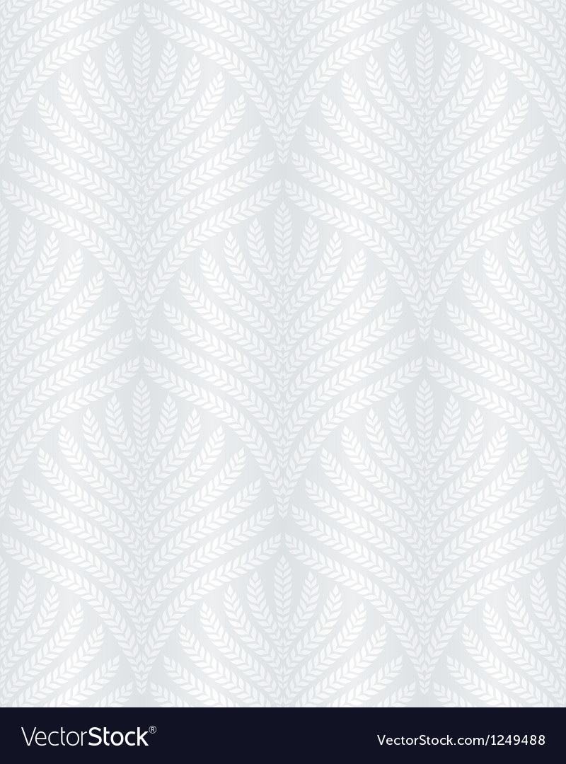 Classic foliage seamless pattern vector