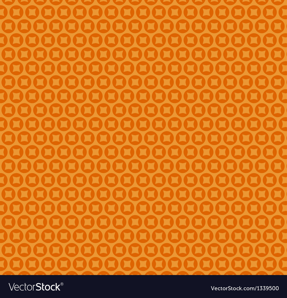 Abstract orange simple seamless pattern vector
