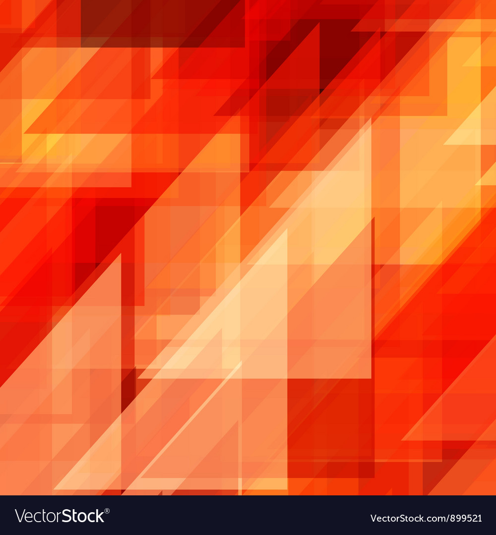 Abstraction retro painted triangles vector