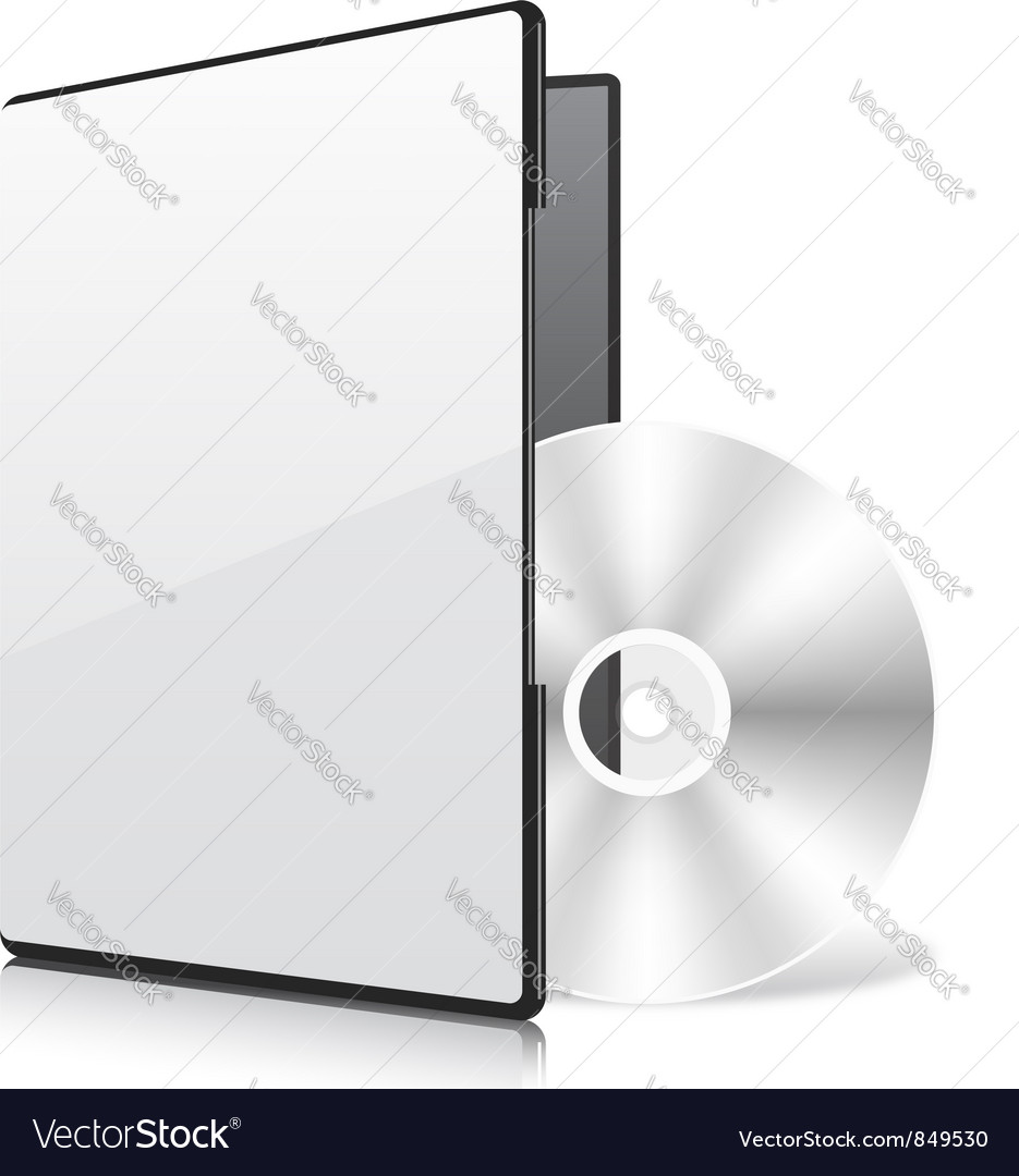 Blank case and disk vector