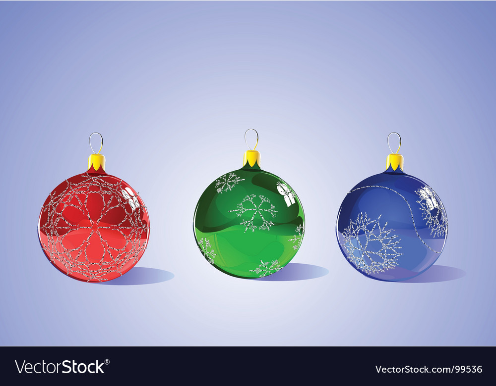 Christmas tree ornaments vector by PixelEmbargo - Image #99536 ...