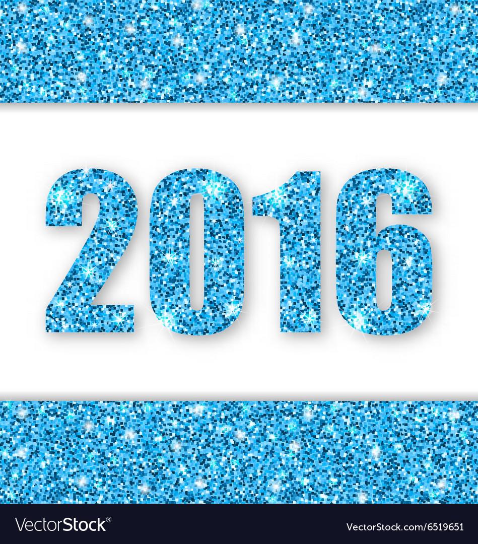 Happy new year 2016 vector by smeagorl - Image #6519651 - VectorStock