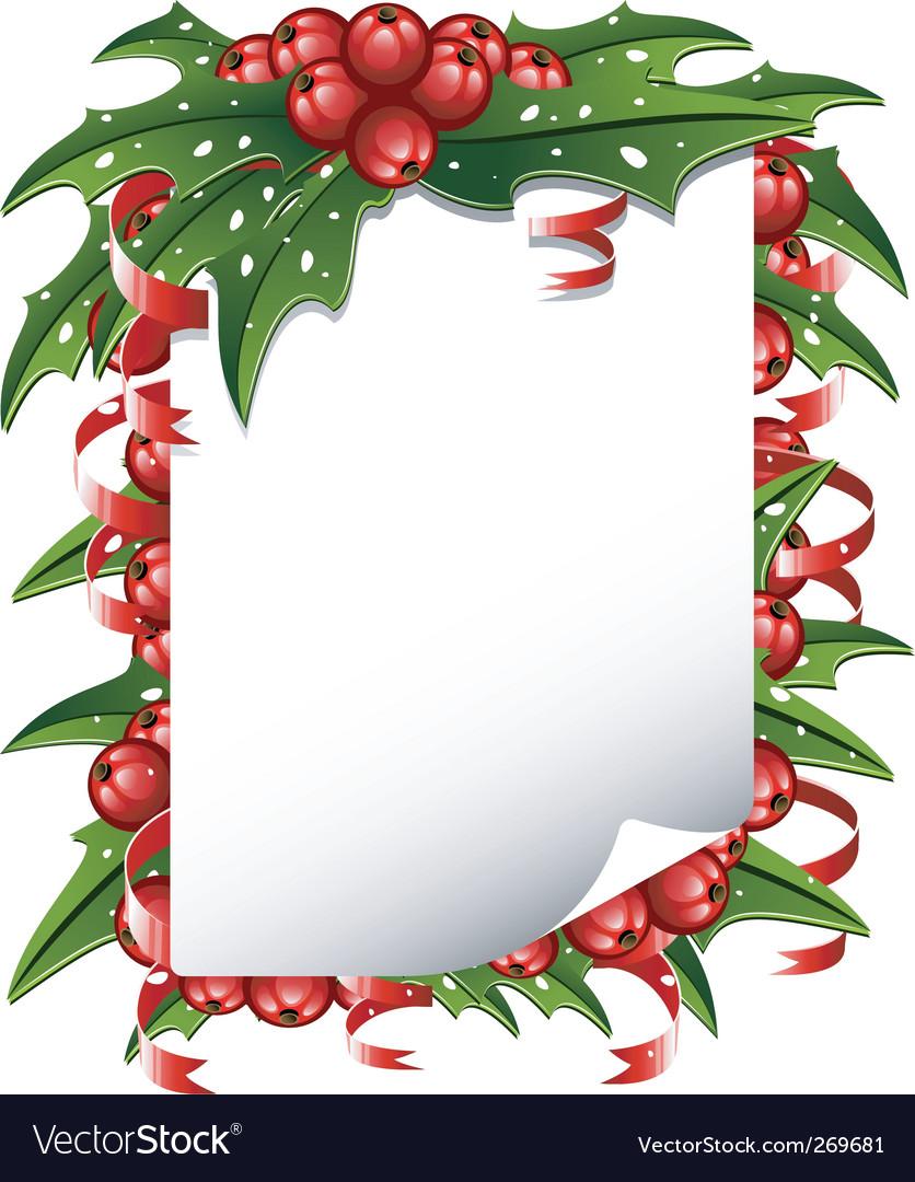 Christmas list vector by jara3000 - Image #269681 - VectorStock