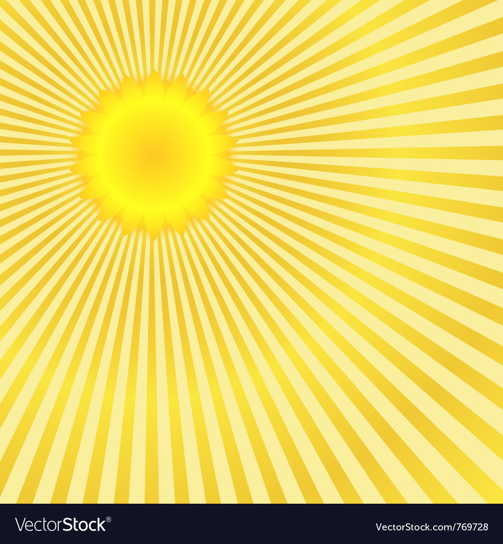 Free sunburst vector