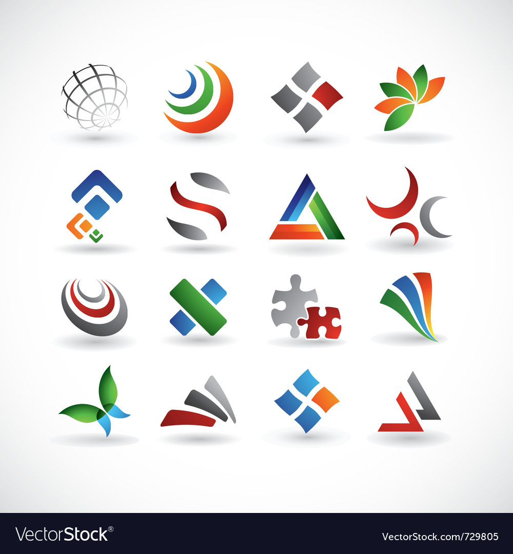 Various design elements vector