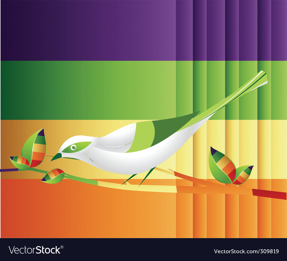 Abtstract nature vector