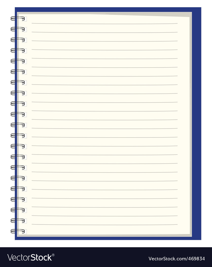 Notebook for records vector
