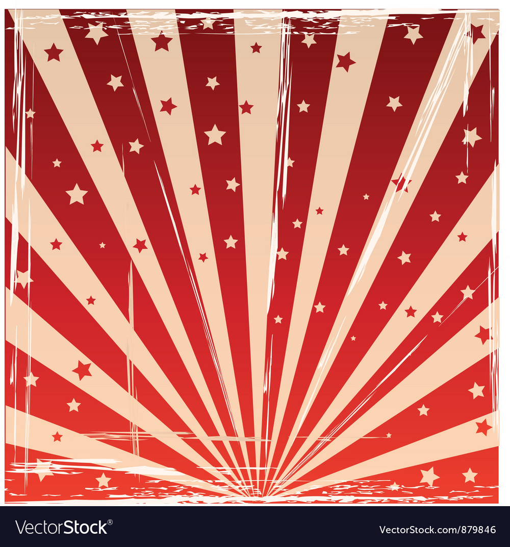 Circus background vector