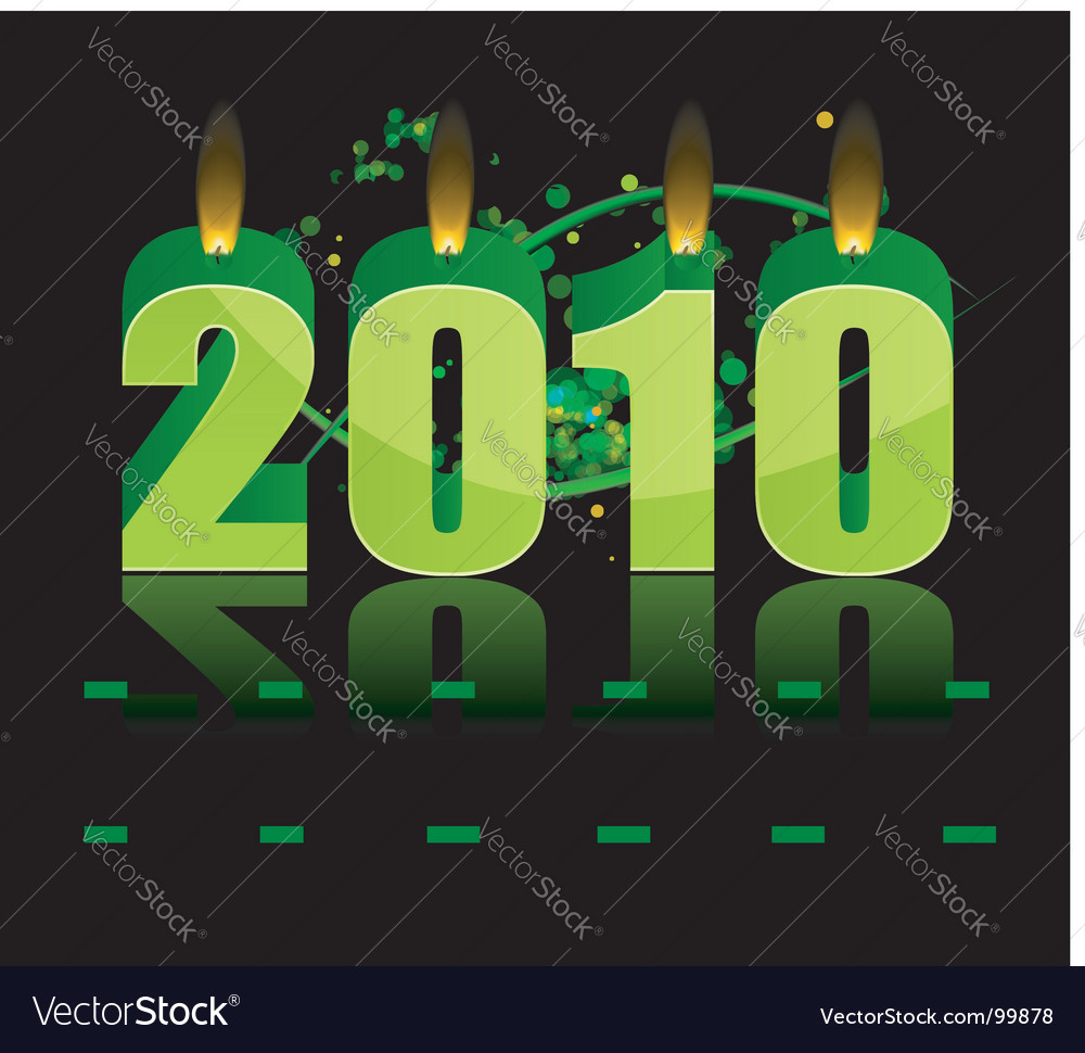 Happy new year vector