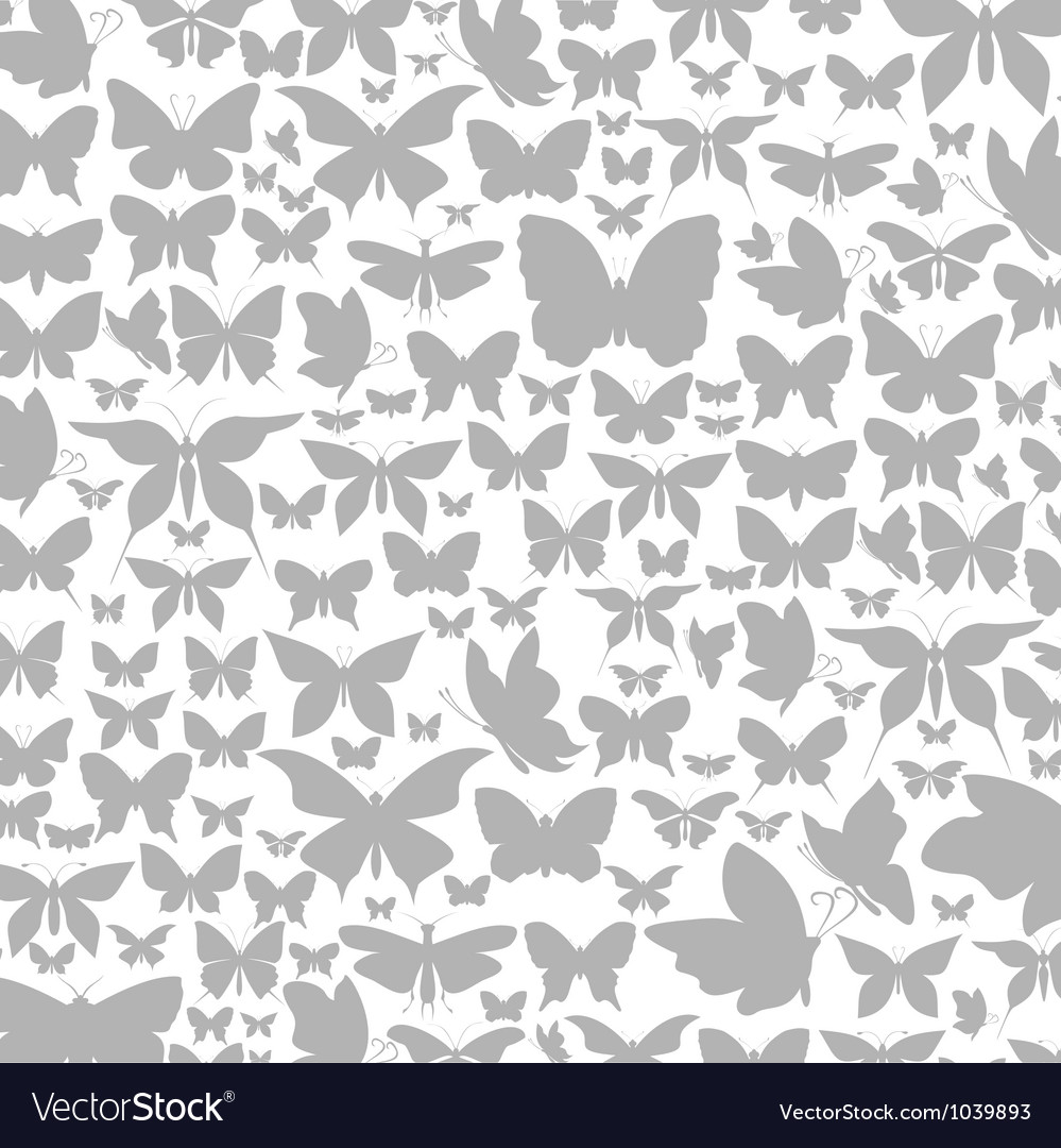 Background the butterfly vector