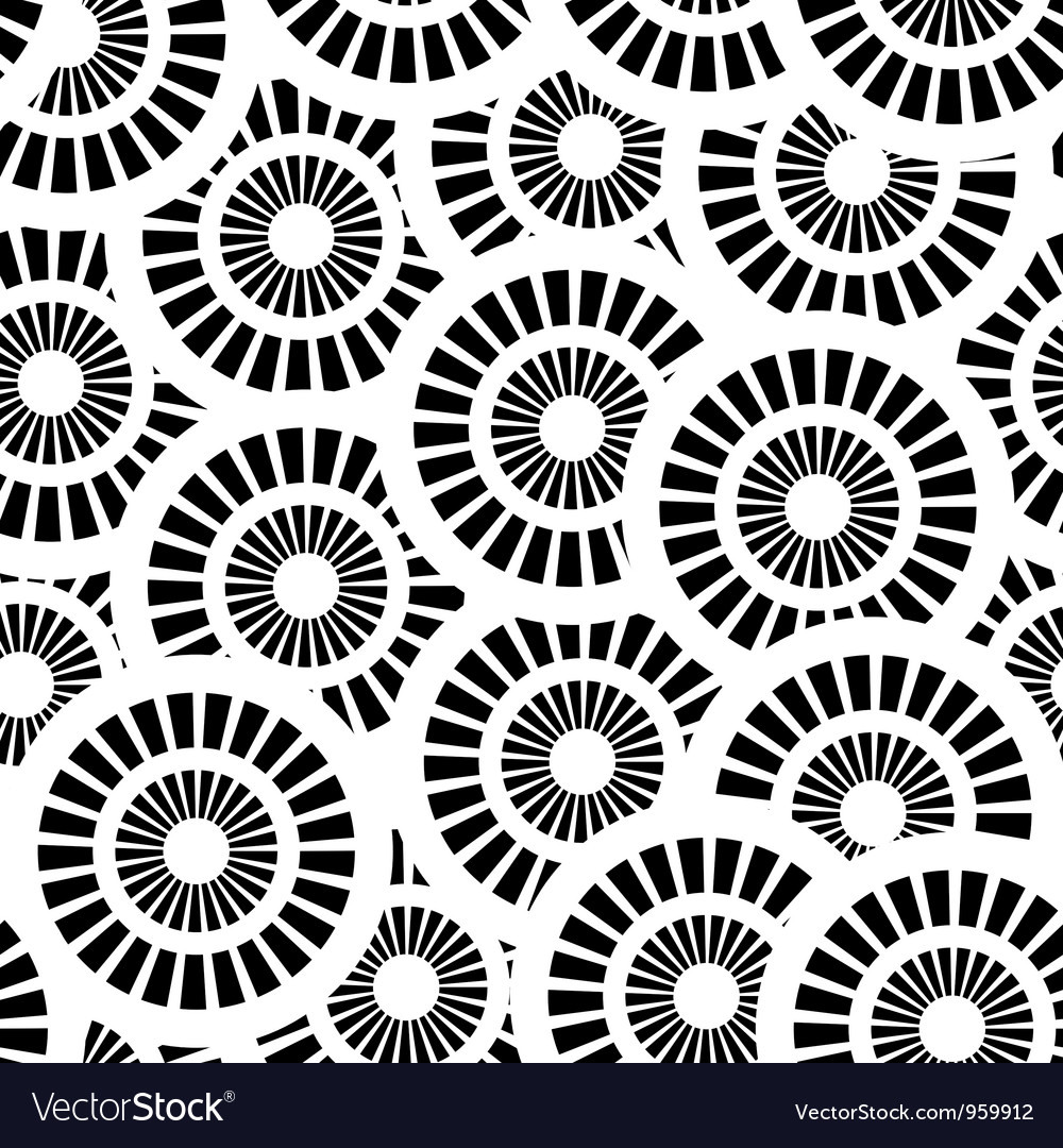 Cool black and white patterns vector - photo#28