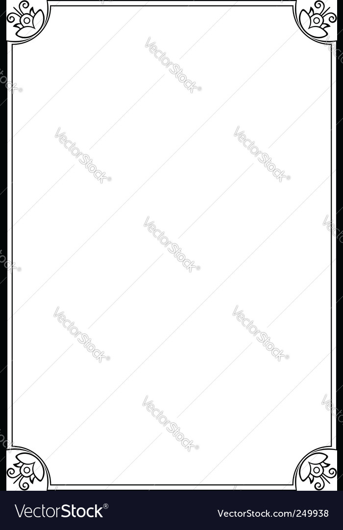 Elegant frame vector by barbulat - Image #249938 - VectorStock