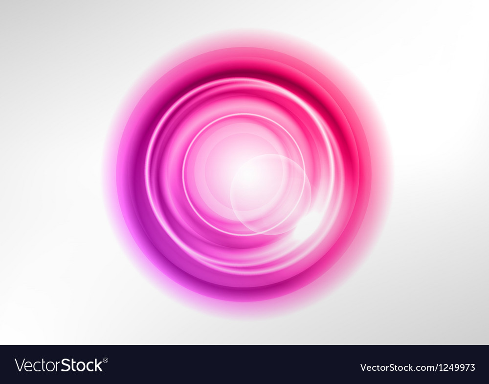 Background purple light center vector