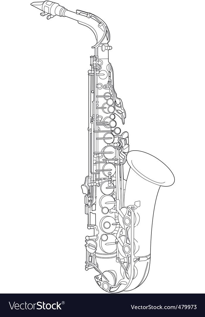 Saxophone Sketch Vector By Befehr Image 479973