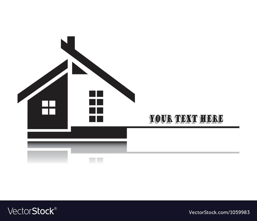 Home on white background vector