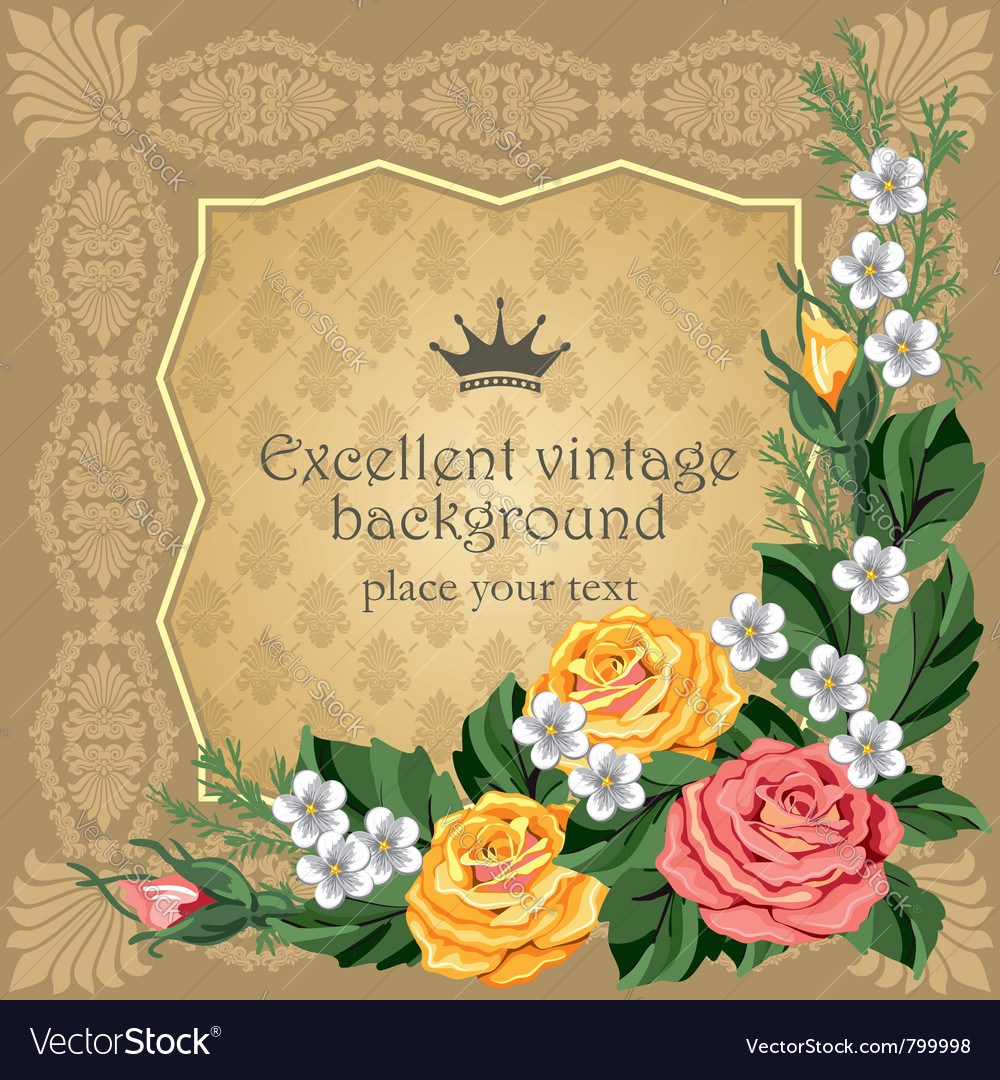 Luxurious background vector