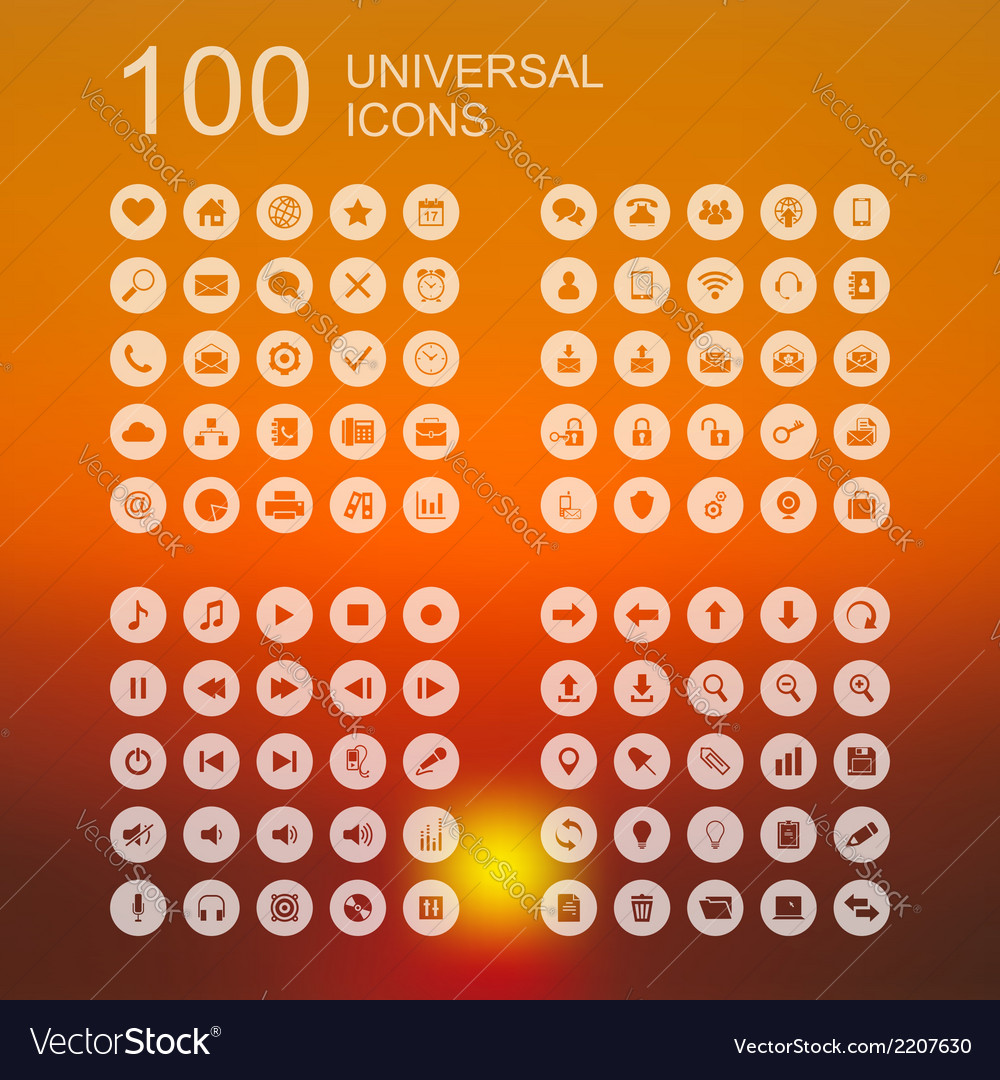 Set-of-100-icons-for-web-design-vector