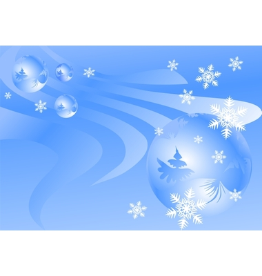 Winter Backgrounds Vector. Artist: Juric; File type: Vector EPS