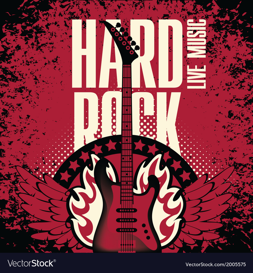 Hard-rock-music-vector