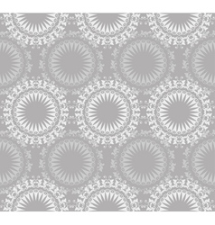 Lace ornate seamless pattern vector