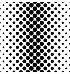 Abstract monochrome dot pattern - geometrical vector