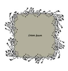 Art frame sketch for your design vector