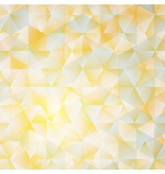 Warm abstract triangular background with filter vector image vector image