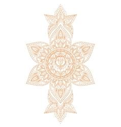 Svadhisthana Chakra Mandala vector image