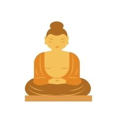 Buddha bangkok thailand religion statue vector image