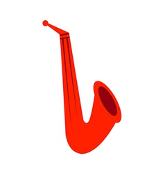 Saxophone symbol vector