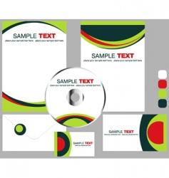 Corporate stationery vector